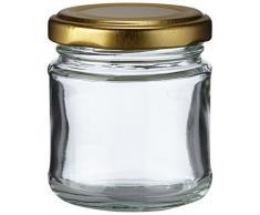 Nutleys Einmachgläser, klein, 100 ml, 12 Stück