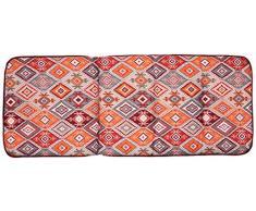 Best hoch 120x50x6 cm, D.1960 Polster, Polsterauflage, Sesselauflage, Stuhlauflage, bunt