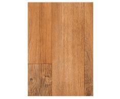 PVC Boden Vinyl Bodenbelag Holzdielen 1,2 mm Dicke Eiche 500 x 400 cm. Weitere Farben und Größen verfügbar