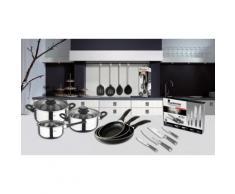 San Ignacio 19-teiliges Küchenzubehör-, Messer-, Pfannen- und Töpfe-Set