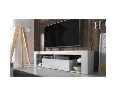 TV-Schrank in Weiß/Weiß