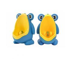 Urinal für kleine Jungs in Blau/Gelb
