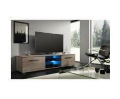 Tenus TV-Schrank mit LED in Eiche Sonoma