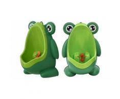 Urinal für kleine Jungs in Grün