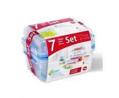 Frischhaltedosen Set 0,15-2,30 l, 7 St
