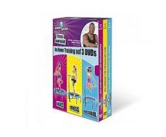 Fitness-Trampolin DVDs, 3 St