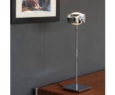 Oligo GRACE LED Tischleuchte mit Dimmer H: 52 cm, chrom G45-931-10-05, EEK: A+. Diese Leuchte enthält eingebaute LED-Lampen. A++ (LED), A+ (LED), A (LED). Die Lampen können in der Leuchte nicht ausgetauscht werden.