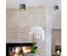 Oligo TUDOR S LED Deckenleuchte Ø 12 H: 9,3 cm, grau matt 41-864-13-45, EEK: A+. Diese Leuchte enthält eingebaute LED-Lampen. A++ (LED), A+ (LED), A (LED). Die Lampen können in der Leuchte nicht ausgetauscht werden.