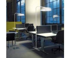 BELUX Koi-12 LED Bogenleuchte mit Dimmer Ø 57.6 H: 205 cm, weiß 51003531-12-LED-TD-WE-30K, EEK: A+. Diese Leuchte enthält eingebaute LED-Lampen. A++ (LED), A+ (LED), A (LED). Die Lampen können in der Leuchte nicht ausgetauscht werden.