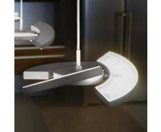 Oligo TRINITY LED Pendelleuchte mit Tastdimmer Ø 25 H: 200 cm, graphit 42-896-10-11, EEK: A+. Diese Leuchte enthält eingebaute LED-Lampen. A++ (LED), A+ (LED), A (LED). Die Lampen können in der Leuchte nicht ausgetauscht werden.