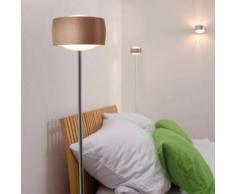 Oligo GRACE LED Stehleuchte mit Dimmer H: 150 cm, kupfer satiniert G44-931-10-15, EEK: A+. Diese Leuchte enthält eingebaute LED-Lampen. A++ (LED), A+ (LED), A (LED). Die Lampen können in der Leuchte nicht ausgetauscht werden.
