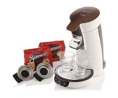 SENSEO Viva Café Kaffeepadmaschine inkl. 2 Gläsern & Kaffeepads HD7836/00/90