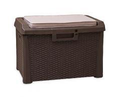 TOOMAX Kissenbox Mehrzwecktruhe Fassungsvermögen 125L ca. 73x50,5x49,5cm