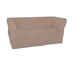 BELSEDIA MF Crinkle-Optik Stretchbezug für 3-Sitzer bi-elastisch, uni