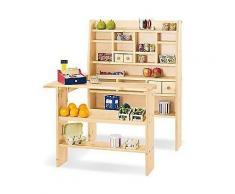 PINOLINO Kinder-Kaufladen 62cm Thekenhöhe 4 Schubladen ab 2 Jahren
