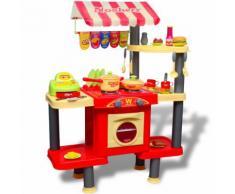 vidaXL Große Kinderküche Spielküche