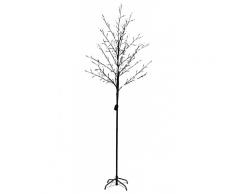 vidaXL Lichterbaum 180 cm 108 LEDs weiß 8 Funktionen