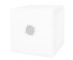 SMOOZ LED Gartenleuchte Leuchtwürfel Music Cube 40 cm 2569451
