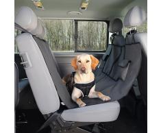 TRIXIE Auto-Schondecke für Hunde 145x140 cm Schwarz und braun