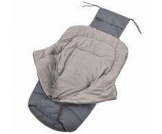 vidaXL Baby-Fußsack / Kinderwagen-Schlafsack 90 x 45 cm Grau