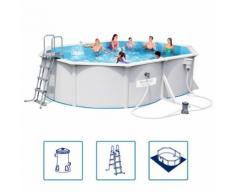 Bestway Hydrium Pro Schwimmbad Set Stahlrahmen 500x360x120 cm 56583