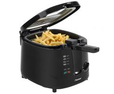 Bestron Fritteuse ADF3000 2,5 L Schwarz 1800 W