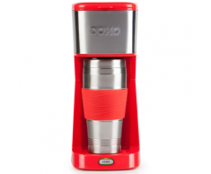 Domo DOMO 2-in-1 Kaffeemaschine 650 W Rot DO438K