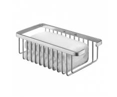 Tiger Flaschen-/Schwammhalter Duschablage Exquisit Silber 488820942