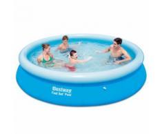 Bestway Fast Set aufblasbares Schwimmbad Pool 366 x 76 cm 57273