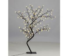 vidaXL Lichterbaum 120 cm 128 LEDs warm weiß