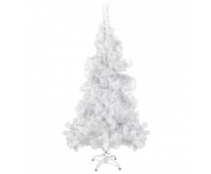 vidaXL Künstlicher Weihnachtsbaum mit Kunststoff-Ständer 150 cm 380 Zweige
