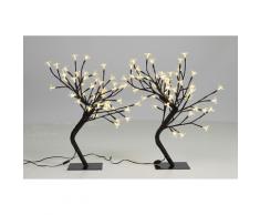 vidaXL Lichterbaum 45 cm 2er Set 48 LEDs warm weiß