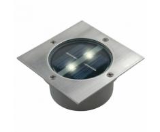 Sélection Brico-travo SMARTWARES Solar Bodenstrahler Quadratisch 0,12 W Silber 5000.198