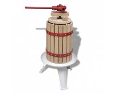 vidaXL Obst- und Weinpresse 6 L