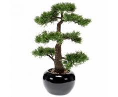 Emerald Kunstpflanze Bonsai Zeder Grün 47 cm 420005