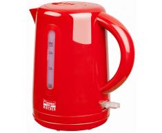 Bestron Elektrischer Wasserkocher 1,7 L Rot 2200 W AWK300HR
