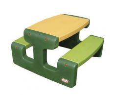 Little Tikes Spieltisch Picknick-Tisch Grün