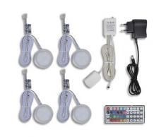 vidaXL LED Beleuchtung Unterbauleuchte Möbelleuchte