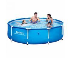 Bestway Steel Pro Rundes Schwimmbad Pool 305x76 cm Stahlrahmen 56406