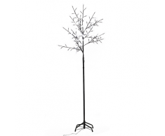 vidaXL Lichterbaum 210 cm 180 LEDs weiß
