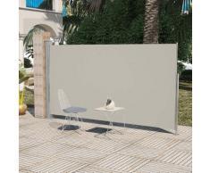 vidaXL Terrassenmarkise Seitenmarkise 180 x 300 cm Creme