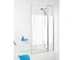 Get Wet by Sealskin Badewannenaufsatz 100 cm Dekorglas SH011004314400