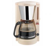 Bestron Kaffeemaschine 12 Tassen 1000 W elfenbeinfarben ACM100RE
