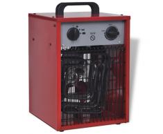vidaXL Mobiler Heizlüfter Bauheizer Elektroheizung 5 kW 200 m³/h