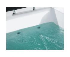 Beliani Whirlpool-Badewanne MONTEGO