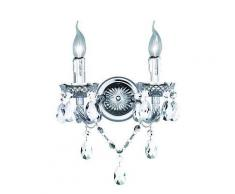 ROLLER Kronleuchter Lüster - chrom - 2-flammig, A++