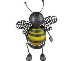ROLLER LED-Solarleuchte, Solarlampe - Biene - schwarz - gelb