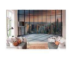 ROLLER Fototapete, Mustertapete 4-teilig - NEW York Penthouse - 368x254 cm