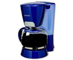 Bomann Kaffeemaschine KA 183 CB - blau