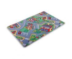 ROLLER Kinder-Spielteppich Autobahn - 95x200 cm